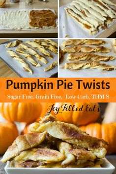 My Pumpkin Pie Twists are low carb, grain/gluten/sugar free, & a THM S. They have the flavors of fall with a twist. These are perfect for parties or just an afternoon snack.  via @joyfilledeats