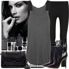 """""""Simple."""" by chrylou on Polyvore"""