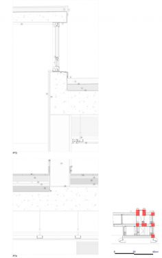 Image 60 of 65 from gallery of Sambade House / spaceworkers. Second Floor Plan Architecture Drawings, Architecture Details, Base Building, Weekend House, Construction Process, Detailed Drawings, Green Landscape, House 2, Building Materials