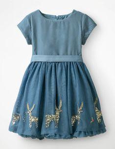 dfe2bffa7b Velvet Appliqué Dress Boden Mini Boden