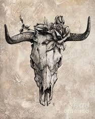 """Résultat de recherche d'images pour """"tatouage crane animaux"""""""