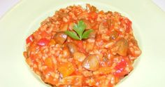 Retete de post si mancaruri de post cu orez si legume, reteta orez calugaresc cu ciuperci, pilaf cu legume, retete culinare, retete de mancare. Risotto, Potato Salad, Deserts, Potatoes, Meat, Vegetables, Ethnic Recipes, Food, Home