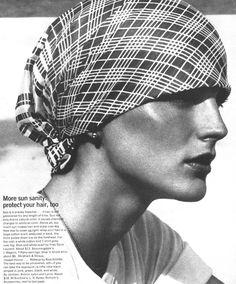 Anne Holbrook by Kourken Pakchanian for Vogue, 1973 [ Face. The CV ]