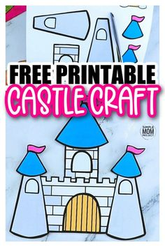 Are you in need of a fun castle craft for your princess tea party? Well look no further because the free printable castle template is available for download now. You can build your own paper castle and decorate it however you please. Add icicles for a Frozen theme or perhaps rewatch Tangled for a Rapunzel theme. This medieval castle craft is perfect for kids of all ages, boys, girls, preschoolers, toddlers and even kindergartners. Print your castle template now! #castlecraft #castletemplate… Princess Crafts, Princess Tea Party, Princess Castle, Little Princess, King Craft, Castle Crafts, Rainy Day Crafts, Storybook Characters, Fairy Crafts