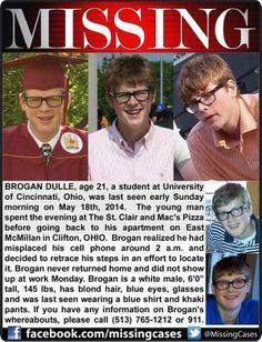 Please help, my friend is missing.