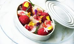 King Crab with Raspberries  - Miami Meets the World at The Bazaar by José Andrés Restaurant