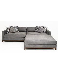 Detroit Consulo large deep sectional sofa