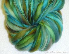 Verdigris Pouf Art Yarn