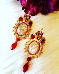 #soutache #moda #fashion #handmade #earrings #chic #collar #trendy #jewelry #style #orecchini #design #swarovski #color #accessories #bijoux #instafashion #creatività #art #nuovatecnica #instacool #creazionifantasia