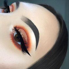 Gorgeous Makeup: Tips and Tricks With Eye Makeup and Eyeshadow – Makeup Design Ideas Makeup On Fleek, Kiss Makeup, Cute Makeup, Gorgeous Makeup, Glam Makeup, Pretty Makeup, Makeup Inspo, Makeup Inspiration, Hair Makeup