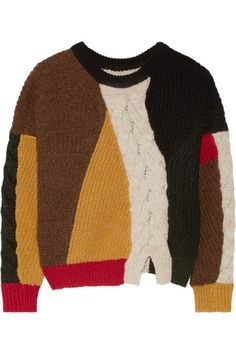Patchwork knitwear from Etoile Isabel Marant