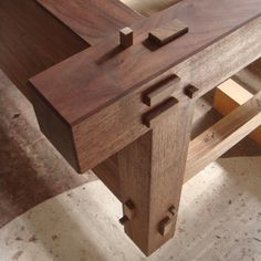 Before you begin even the simplest of woodworking projects, you'll need some basic tools. Japanese Wood Joints, Japanese Carpentry, Japanese Joinery, Japanese Woodworking, Woodworking Joints, Woodworking Techniques, Woodworking Projects, Japanese Bed, Wood Joinery