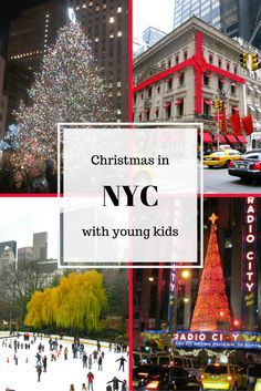 What to do in NYC at Christmas with young kids