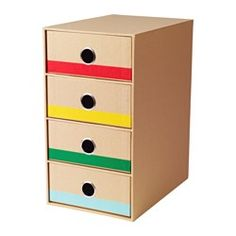 IKEA LÄTTFATTLIG mini chest with 4 drawers