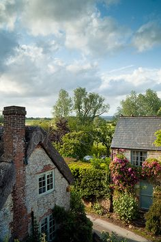Amberley, a historic village in West Sussex, England (photo was the cover of Country Life, UK magazine, June 2011)   Slawek Staszczuk