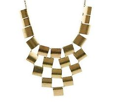 Joan Rivers Checkerboard Bib 18 Necklace w/3 Extender
