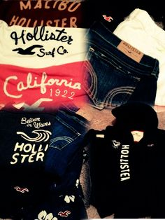 Hollister clothes the very best!