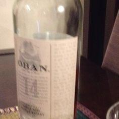 Oban single malt scotch whisky