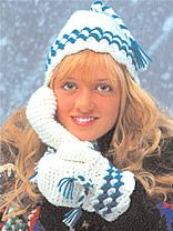 free crochet mittens & gloves patterns from free-crochet.com