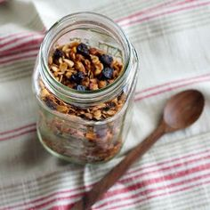Homemade Granola — Granola is so simple to make yourself, and since you can control the ingredients you can easily make it irresistible to your family. I'm pretty sure you could add an…