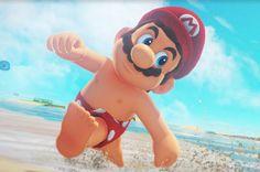 Nintendo revela una foto de Mario playero