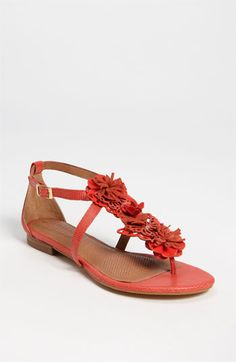 This Corso Como Sandals from Nordstrom look so comfortable and the CORAL color just rocks! #SephoraColorWash