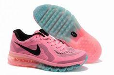 Nike Air Max 2014 Mesh Running rosa / negro / azul http://www.esnikerun.com/