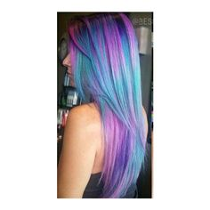 Dyed hair ❤ liked on Polyvore featuring hair