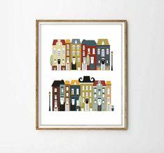 laminas decorativas laminas casaslaminas ciudades cuadros