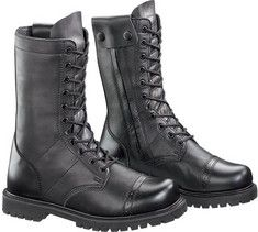 Bates Men's Paratrooper Side-Zip Boots - Combat & Tactical Boots at Sportsman's Guide Timberland Outfits, Timberland Stiefel Outfit, Yellow Boots, Black Boots, Paratrooper Boots, Duty Boots, Fishing Boots, Steel Toe Work Shoes, Timberland Waterproof Boots