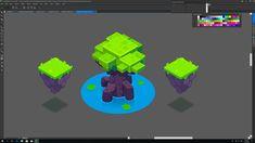 Dragon World (isometric map) Video Game Backgrounds, Isometric Map, Behance, Dragon, Logos, World, Creative, Logo, Dragons
