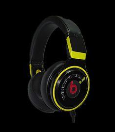 Beats By Dre Pro Detox Headphones Black Yellow