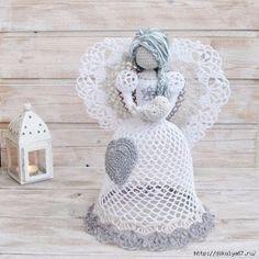 Delicadezas en crochet Gabriela: Ángel