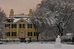 Snow Day | Across from the Longfellow House in Cambridge. Fr… | Flickr