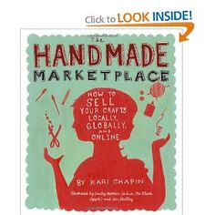 My brother got me this book for Christmas, it's everything you need to start selling your own crafts! An easy and very informative read. Everytime I pick it up it makes me want to start more projects though :)