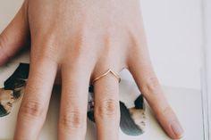 chevron  rings/womens rings/unique rings/men by LETTERSEARRING, $11.80