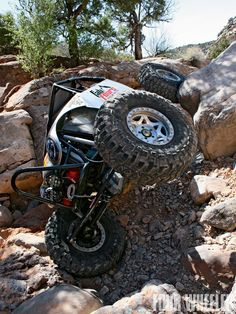 Rock Crawling Tires | 129 9902 Tire Tread Works Rock Crawler In Moab Photo 7