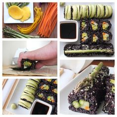 Roll your own vegan sushi at home! Here's how... Vegan   Gluten-Free   Thefitchen.com