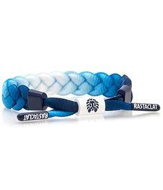 Braided Shoelace Bracelet: Dungaree
