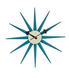 Replica George Nelson Sunburst Clock by George Nelson - Matt Blatt