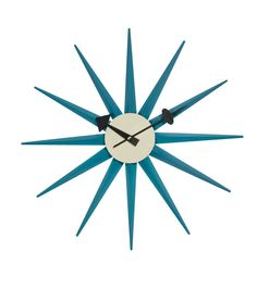 Replica George Nelson Sunburst Clock Matt Blatt also in more colors