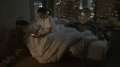 """Her (2013) - Theodore is lonely & in the final stages divorce. He purchases the world's first artificially intelligent OS, """"It's not just an operating system, it's a consciousness."""" He finds himself drawn in to Samantha, the voice behind his OS. They grow closer & find themselves in love. He finds himself dealing with feelings of both joy & doubt. Samantha has intelligence she uses to help him in ways others hadn't, but how does she help him deal with his conflict of being in love with an…"""