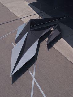 Prima installation by Zaha Hadid for Swarovski at Vitra Campus | urdesign magazine