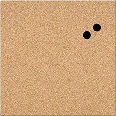 "Board Dudes 17"" x 17"" Unframed Magnetic Canvas Cork Board (CYF06)"