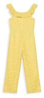 00c51241d0478 Bardot Junior Junior Girl's The Blake Lace Jumpsuit