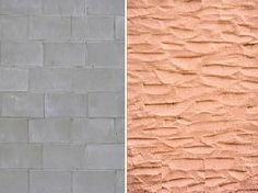 How to Stucco a Cinder Block Wall - Modern Stucco Exterior, Stucco Walls, Exterior Paint, Concrete Block Walls, Cinder Block Walls, Cinder Blocks, Painting Concrete Walls, Basement Walls, Backyard Projects