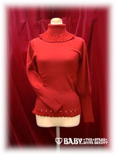 Baby the Stars Shine Bright / Cutsew & Knit / Frill Knit Pullover