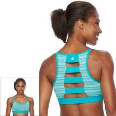 90 Degree By Reflex High Impact Full Support Ladderback Sports Bra