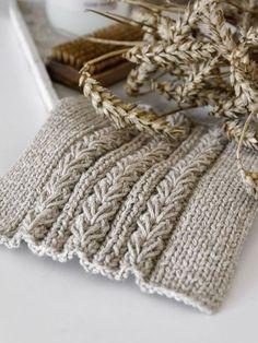 DIY   Spültücher mit Weizenmuster inkl. Anleitung – mxliving