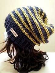 This hat should take you approximately 3-5 hours. Gauge is given however this hat is quite simple to adjust for all sizes. Basically it depends on how many rows your band is. Just follow the basic pattern with your specifications.